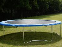 Trampoline safety pad ensures that you,and your family