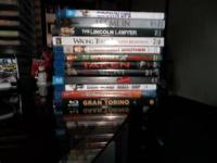 Have 12 blue-ray movies, good titles all in great
