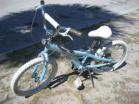 Little Girl's bike made by Schwinn 20 inch tires Hand