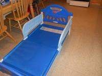 This bed is in good condition, my son never uses it,
