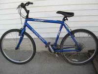 """Blue 21Speed TREK 800 SPORT 21"""" bicycle. Tires in good"""