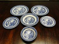 I have 60 pieces of Blue Willow china. 10 lunch plates,