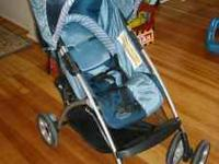 Blue Folding Stroller by Costco, Juvenile Folding
