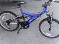Like new Pacific 7 speed mountain bike with 20 inch