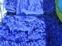 I am selling a blue pageant style dress. There is no