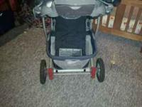 this is a way cute stroller it has 3 positions (up