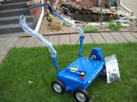 I have a BLUEBIRD brand C1800FC lawn comber / power