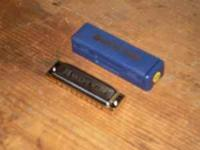 "New Hohner ""Blues Harp"" harmonica, ""B""-flat, 532/20 MS"
