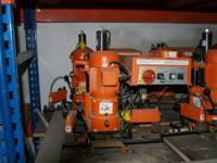 Two Blum hinge machines, like new, situated near the