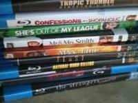I have some Bluray movies for sale, perfect condition