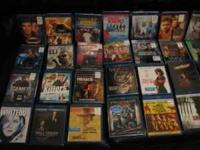 I have 37 bluray movies $8.00.each except for a Jason