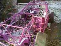 Selling Bmod race car frame built by Arrow Chassis. 72