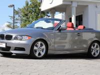 2011 BMW 135i Convertible 6 Speed Manual Trans