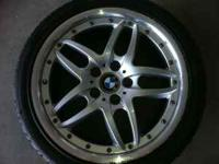 Selling my factory Bmw rims 18'' staggers for mor info.