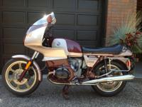 Restored R100RS first year of the R100 excellent