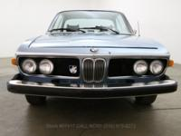 1974 BMW 3.0 CS1974 BMW 3.0 CS in blue with blue