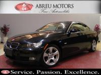 2008 BMW 328I Convertible. CARFAX 1-Owner vehicle, non