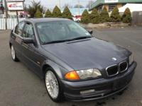 2001 BMW 330i Sedan Automatic 124,114 Miles Dark Gray