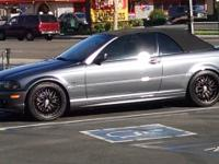 4 18 inch spoke rims and tires for 2002 BMW 325Ci. Full