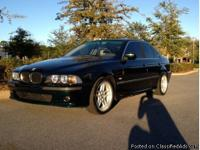 This 1999 BMW 528i has 183k miles and a brand-new paint