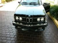 For sale is a 1986 BMW 635csi. The vehicle is in good