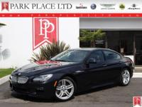 2015 BMW 650i Gran Coupe in Carbon Black with Cinnamon