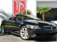 What an absolute beauty this 2009 BMW 650ci Convertible