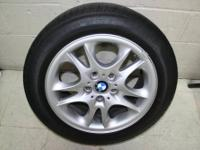 "I AM SELLING FOUR 17"" BMW ALUMINUM RIMS IN GREAT"