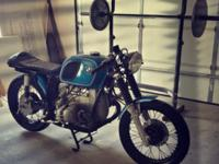 Up for sale is an extremely uncommon 1976 BMW r90/6.