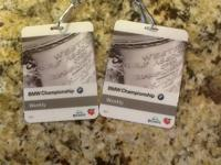 1 weekly badge for the BMW Championship.  Planned on