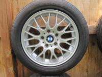 Comprehensive BBS wheelset (set of 4) from 1998 BMW