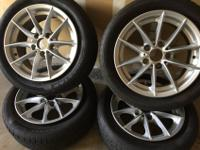 -Tires in great condition, size 205/55R16....doesn't
