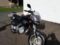 This is a 2003 bmw f650cs. The milage is 24,000. Great