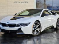2014 BMW i8 Tera in Crystal White Pearl Metallic with