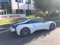 This is a BMW, i8 for sale by CNC Motors. The asking