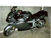 Description 2005 BMW K1200S custom motorcycle for sale.