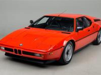 1980 BMW M1 VIN# WBS40 8,441 miles (13,586 km)