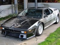 1979 BMW M1 AHG VIN: WBS94 This vehicle, number 94 of