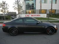 CNC MOTORS OFFERS THIS FROZEN BLACK M3!!!! 1 OF 20 EVER