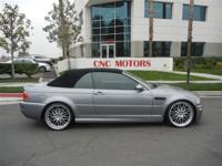 CNC MOTORS OFFERS THIS 2004 BMW E46 M3 CONVERTIBLE!!!!