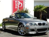 2004 BMW M3 Convertible in Silver Grey Metallic with