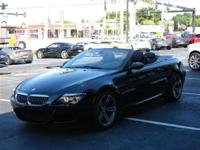 This 2008 BMW M6 2dr Convertible features a 5.0L V1 0