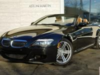 2008 BMW M6 Convertible in Black Sapphire Metallic with