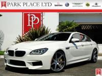2014 BMW M6 Gran Coupe finished in crisp Alpine White