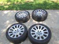 "These are 18"" wheels and they came off my BMW 2003"