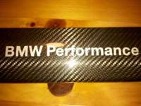 For Sale: BMW Performance carbon fiber strut brace and