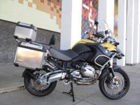 Combine ideas of adventure and motorcycling and the BMW