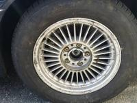 "BMW rims 16"" 2 wheels with great tread (3000miles) 2"