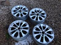 I have for sale a set of 4 stock 2005 BMW XI rims. They