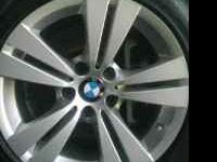 "Set of 5, 2009, 528i STOCK BMW ""Alloy"" rims & **RUN"